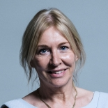 Nadine Dorries Portrait
